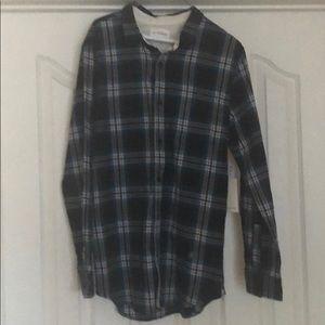 Men's large plain shirt.